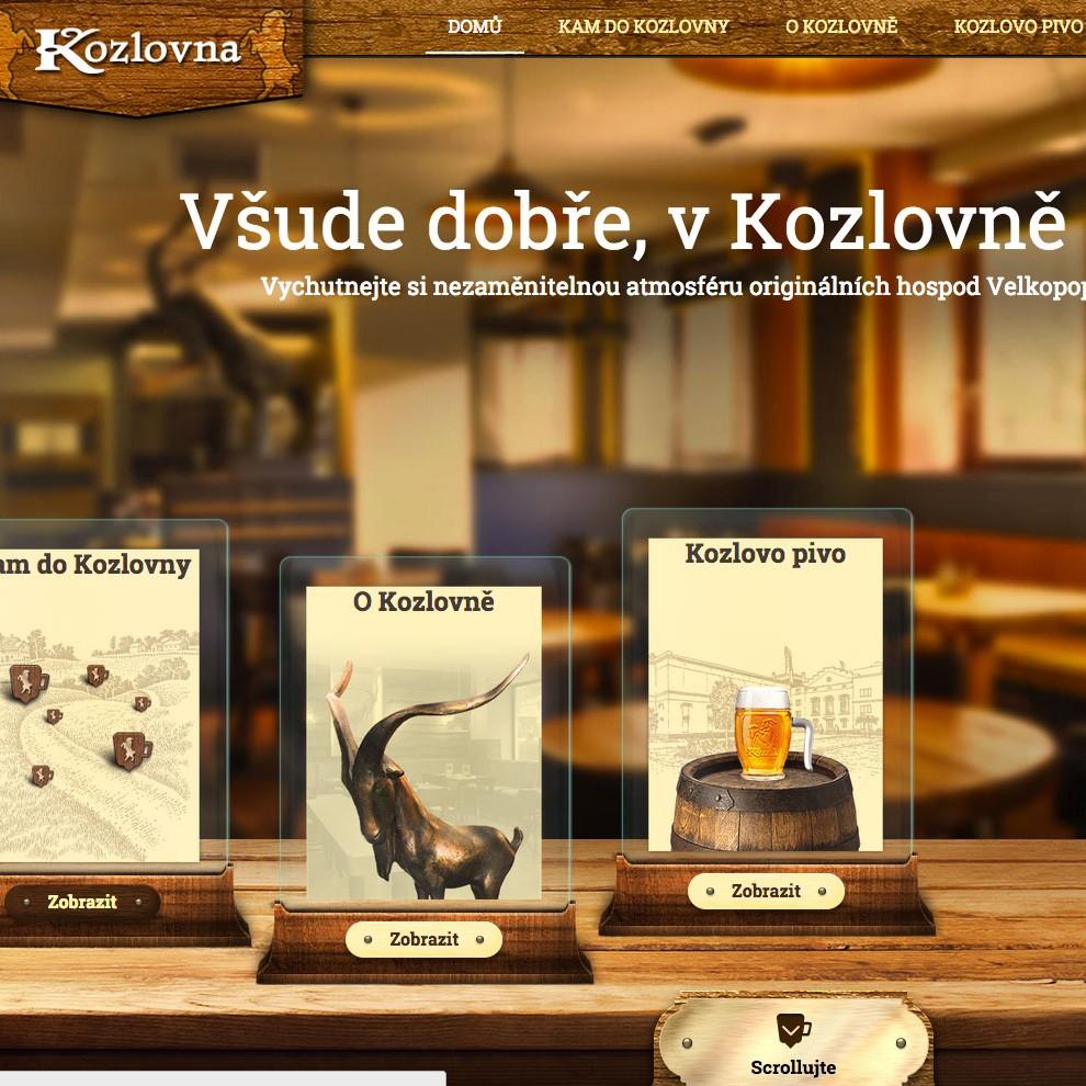 Web Kozlovna Home